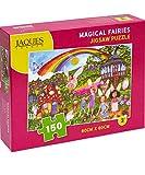 Jaques of London Magical Fairies Jigsaw Puzzle 150 Piezas - Rompecabezas Adecuado para 4 - 5 - 6 - 7 años 220 añ