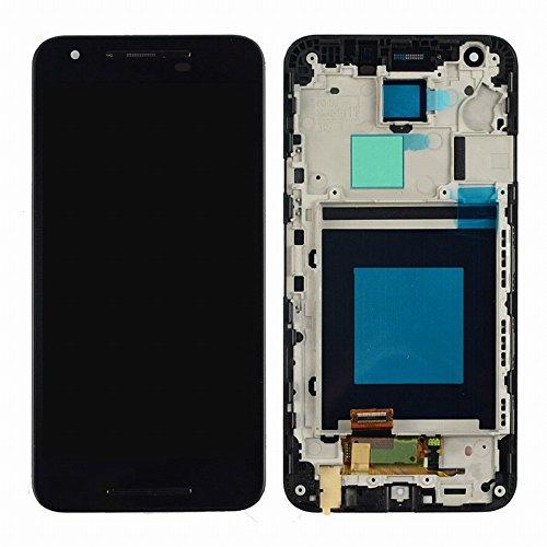 LG Optimus Nexus 5X H790 LCD Pantalla Táctil Digitalizador Vidrio Completa con Marco Reemplazo y Herramientas (Negro)