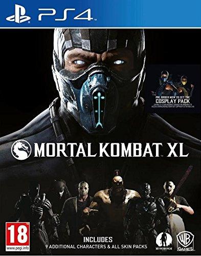 Warner Bros Mortal Kombat XL, PlayStation 4 Básico PlayStation 4 vídeo - Juego (PlayStation 4, Básico, PlayStation 4, Lucha, M (Maduro), Warner Bros. Interactive Ent., Fuera de línea, En línea)