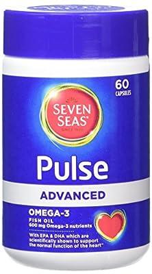 Seven Seas Pulse Advanced Omega-3 Fish Oil (60 Capsules), 90 gram