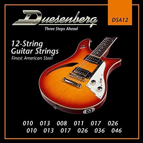 Duesenberg DSA12 010-046 - Cuerdas para guitarra eléctrica