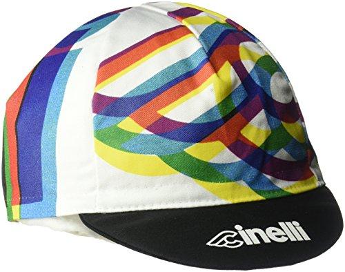 Cinelli Gorra Caleido, Unisex, Color Multicolor, tamaño...