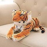 yywl Juguete de Peluche Nuevo Encantador Nuevo 1pc 45cm Realista Tigre Suave Felpa Muñeca De Peluche Felpa Simulación Animal Juguetes