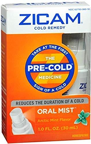 Zicam Cold Remedy Oral Mist Arctic Mint Flavor 1 OZ - Buy Packs and...