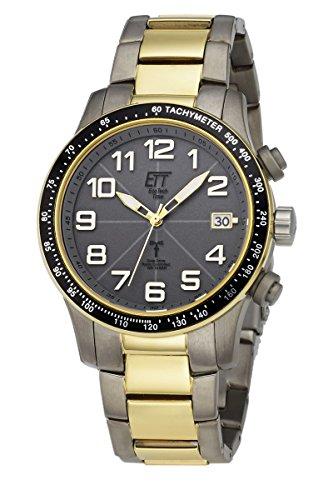 ECO Tech tiempo caballeros-radio control hombres II solares Drive radio aviación EGT-11275-52M caballeros-radio-reloj