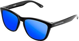 Hawkers Diamond Black Sky One,Gafas de Sol Unisex, Negro/Azul
