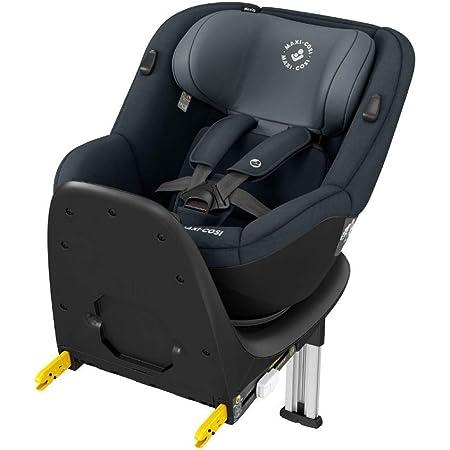 Maxi-Cosi Mica Up, silla de coche giratoria 360° Isofix, silla auto reclinable y contramarcha, desde 4 Meses aprox hasta 4 años, 61-105Cm, 18Kg, Grey (Gris)