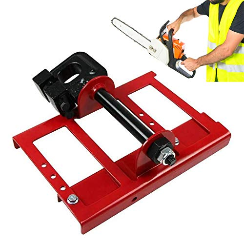HVUE Vertical Lumber Cutting Chainsaw Mill/Saw Steel Timber Chainsaw Attachment Mill Wood for Builders and Woodworkers