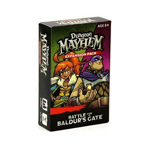 RWX Dungeon Mayhem & Dragons Board Game, Family Gathering Casual Card Game, Ejercicio Pensamiento lógico y análisis (Color : M-1)