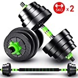 Best Adjustable Dumbbells - 5KGX2,7.5KGX2 Weight Set for Weightlifting and Body Building Review