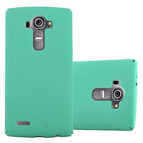 Cadorabo Custodia per LG G4 / G4 Plus in Frosty Verde - Rigida Cover Protettiva Sottile con Bordo Protezione - Back Hard Case Ultra Slim Bumper Antiurto Guscio Plastica