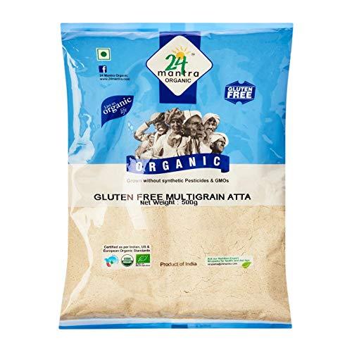 100% Organic Gluten Free Multigrain Atta 1.1lb - 24 Mantra