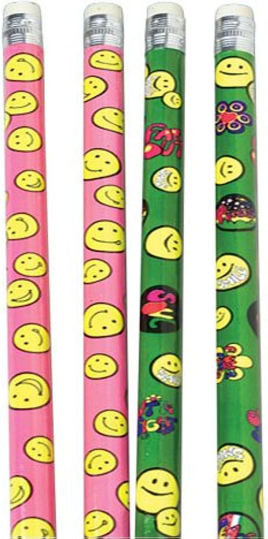 US Toy Company KA113 Neon Smile Pencils