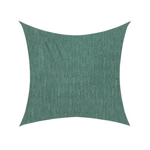 jarolift Voile d'ombrage   Toile d'ombrage   Carré   Tissu Respirant   360 x 360 cm, Vert
