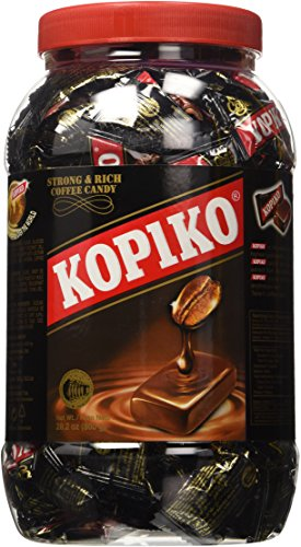 Kopiko Coffee Candy In Jar 800g/28.2oz (Original Version)