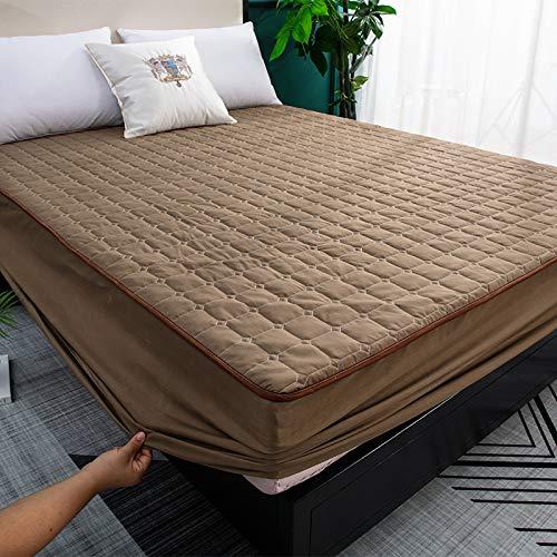 IKITOBI Sábanas de cama extra profundas, 120 x 200 cm, impermeables