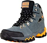 GUGGEN Mountain M008v2 Herren Bergschuhe Wanderschuhe Wanderstiefel Outdoor Schuhe Trekkingschuhe, Grau, EU 43