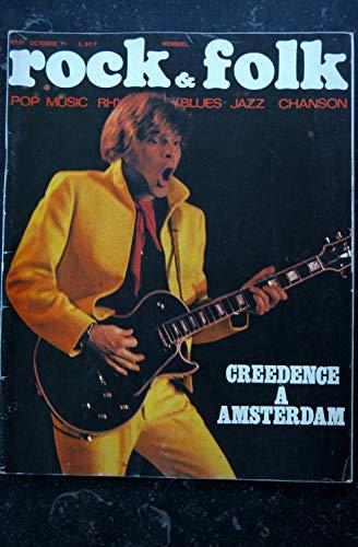 ROCK & FOLK 057 1971 OCTOBRE COVER GREEDENCE DICK RIVERS MALAVAL JAMES TAYLOR JIMI HENDRIX GIMME SHELTER