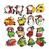 asdfwe 16pcs Weihnachts Gnomes Magnete 16 Arten Weihnachts Magnets...