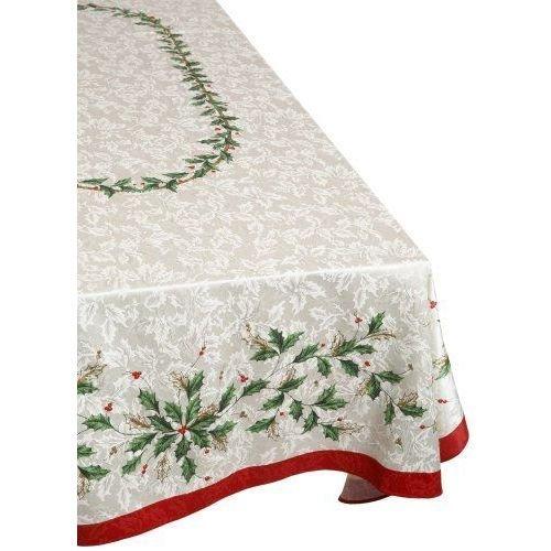 Lenox 7353104OBLIVY Tablecloth, 140, Ivy