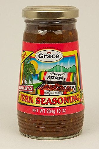 Grace Jamaican Jerk Seasoning Hot 284g ,10oz