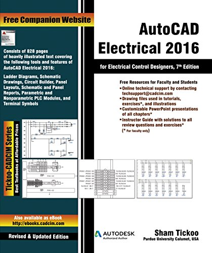 AutoCAD Electrical 2016 for Electrical Control Designers, 7th Edition (English Edition)
