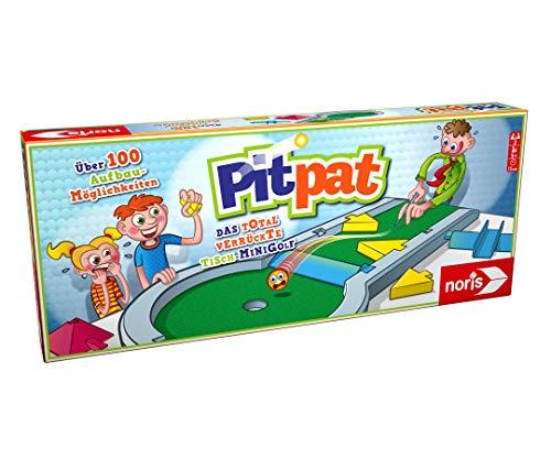 Noris 606064190 Pitpat, Das verrückte Tisch-Minigolf für zu Hause und unterwegs - ab 5 Jahren