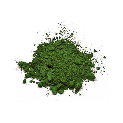 Lienzos Levante Pigmento Puro, 22 Verde de Óxido de Cromo, Tarro de 100 ml