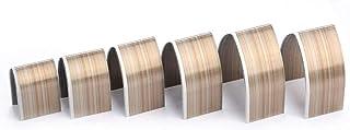 Outil de Poinçonnage de Cuir artisanal en acier allié Bricolage Gaufrage Poinçonnage Coupe Kit de Meulage 18Pcs Pointu Têt...