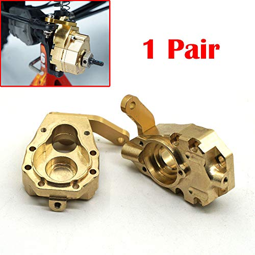 1Pair 135g Metal Brass Front Steering Knuckle Upgrade for Crawler TRX-4