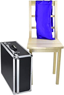 Doowops Floating Chair with Silk Magic Tricks Magician Stage Illusion Props Accessory Gimmick Comedy Mentalism Magic