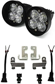Baja Designs Compatible With Toyota Tacoma/Tundra/4Runner, Squadron SAE Fog Light Kit 447614