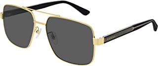 GG0529S Shiny Endura Gold/Grey Solid One Size
