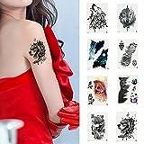 P12cheng Tatuaje Temporal, Arte del Cuerpo, calcomanía de Animales, Oso de Perro, Brazo, Hombro Impermeable, Tatuaje Falso, calcomanía de Regalo, TH-148