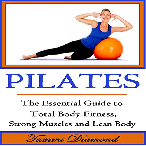 Pilates for Beginners audiobook cover art