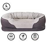 Pet Deluxe Dog Beds Large Pet Bed Orthopedic Dogs Lounge Sofa Pets Couch Beds Super Soft Cat Beds with Removable Washable Cover