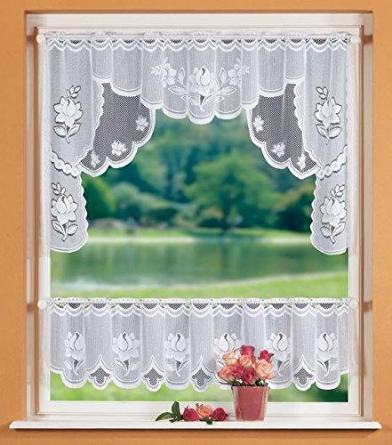 GardTex Blumenmuster weiß Bild
