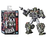 Transformers Generations War for Cybertron - Robot Deluxe Houd Jeep - 14 cm - Jouet Transformable 2 en 1