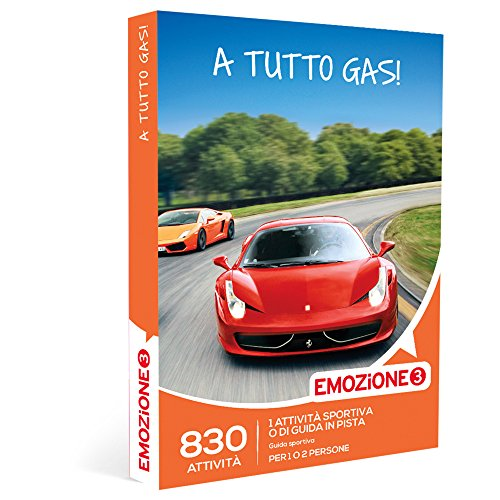 A TUTTO GAS! - 830 attività sportive o di guida in pista per 1 o 2 persone