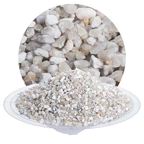25 kg heller Filtersand, Filterkies, Quarzsand für Sandfilteranlagen, zur Wasserreinigung Wasseraufbereitung von Pool, Teich, Badeteich von Schicker Mineral (Filtersand/Filterkies natur, 3,15-5,6 mm)