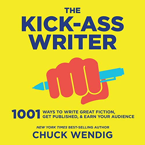The Kick-Ass Writer  By  cover art