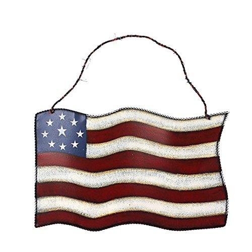 Amerikanische Scheunenstern, Metall, patriotisch, Old Glory Americana Flagge, Scheunenstern, Wanddekoration für Juli des 4. Unabhängigkeitstages (amerikanische Flagge)