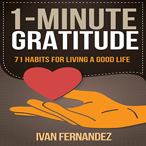 1-Minute Gratitude audiobook cover art