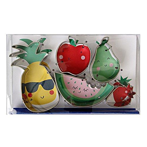 Ausstechformen für Obstliebhaber, 6 Stück, für Sternbäcker, Kinder, Party, Geschenk, Backen, Kekse, Liebhaber, Kekse, Geschenke, Edelstahl