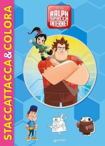 Ralph Spacca Internet. Staccattacca&colora. Con adesivi. Ediz. illustrata