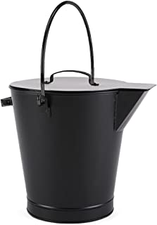 Minuteman International All Black Ash Bucket Pail