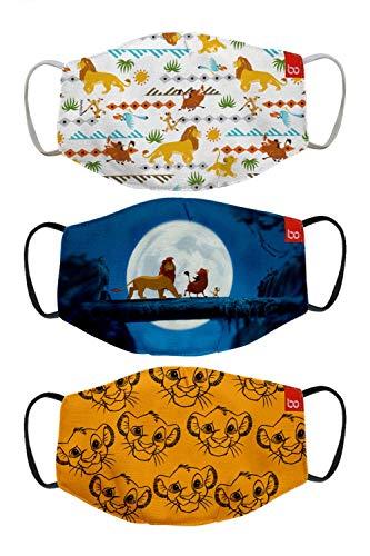 Bon Organik Lion King (OFFICIAL MERCHANDISE) 2 Ply Printed Cotton Cloth Face...