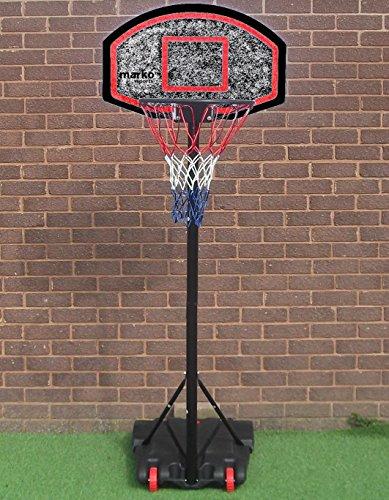 Generic. Sketball net free standing basket Nding Bask tabellone supporto ll N set ruote Stan net Hoop BLE portatile regolabile.