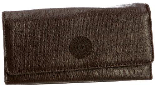 Kipling Unisex-Erwachsene BROWNIE Portemonnaies, Braun (Lacquer Brown 721), 19x10x3 cm