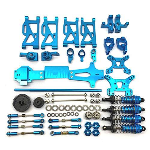 Tuneway para 1: 14 144001 Repuestos de Actualización de Automóviles RC Brazo Oscilante C Asiento Combinador Volante Asiento de la Rueda Trasera, Azul
